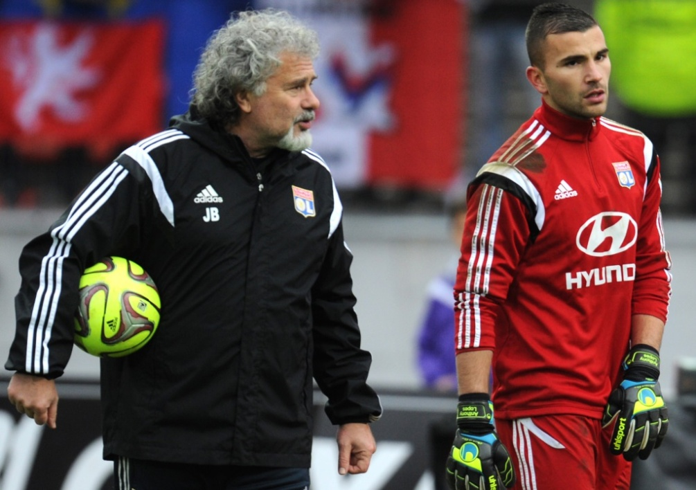 Joël Bats et Anthony Lopes