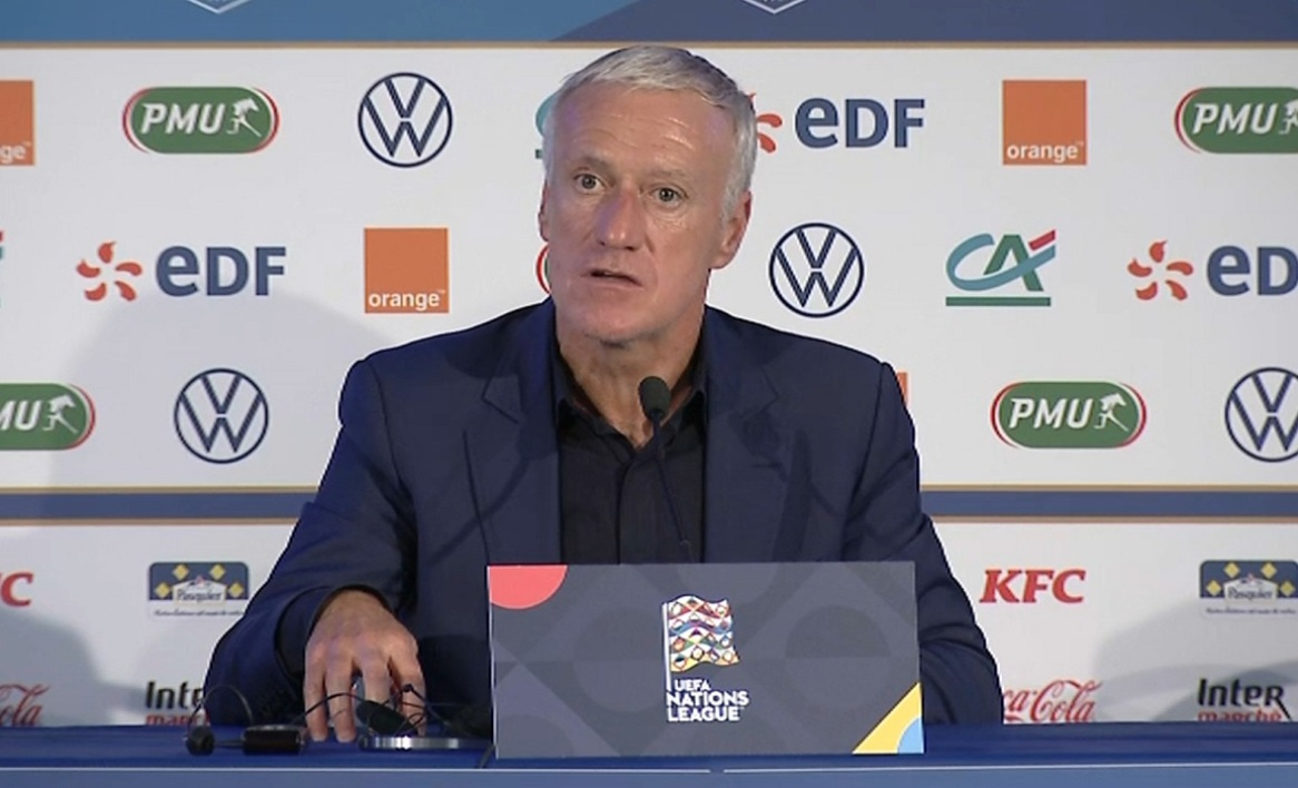 Didier Deschamps après France-Croatie