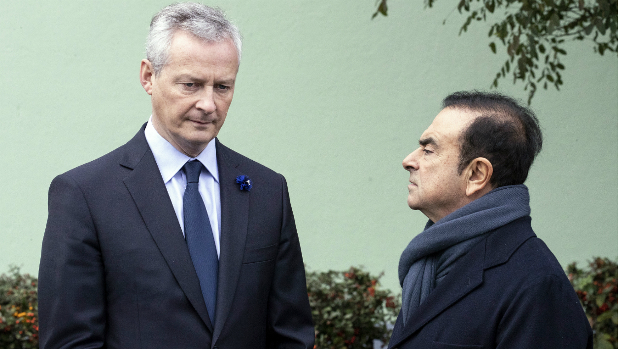 Le Maire Ghosn