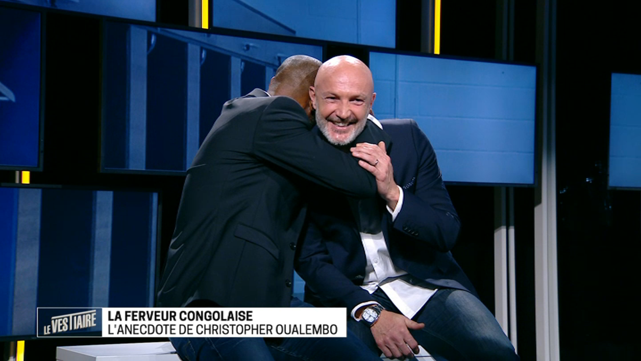 William Gallas et Frank Leboeuf dans Le Vestiaire