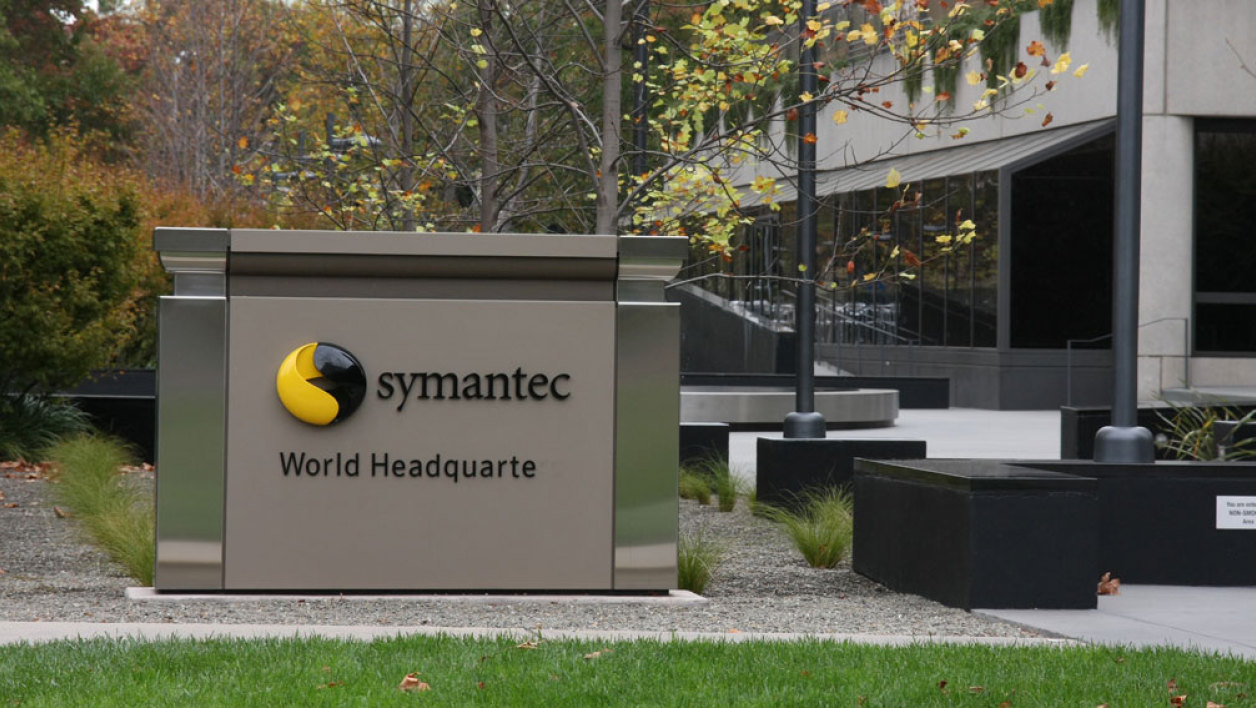 Le siège du groupe informatique Symantec à Mountain View, en Californie