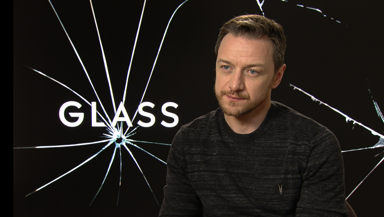 Glass James McAvoy