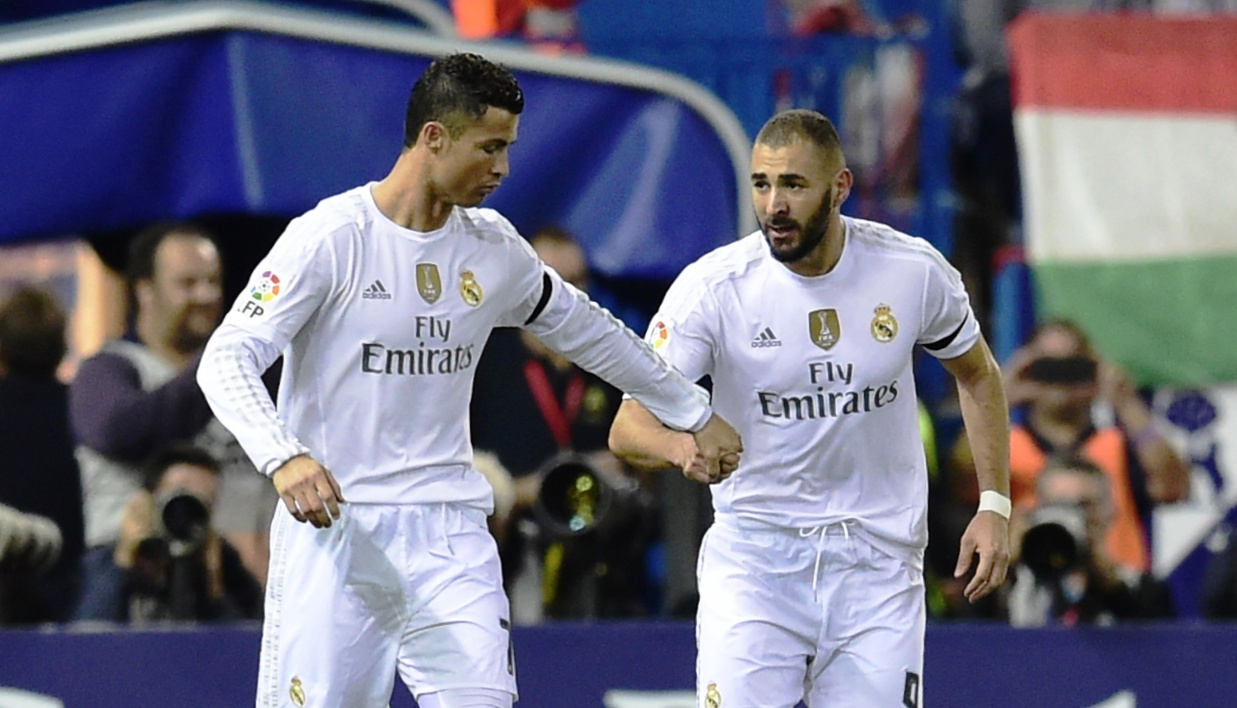 EN VIDEO: le superbe but de Benzema