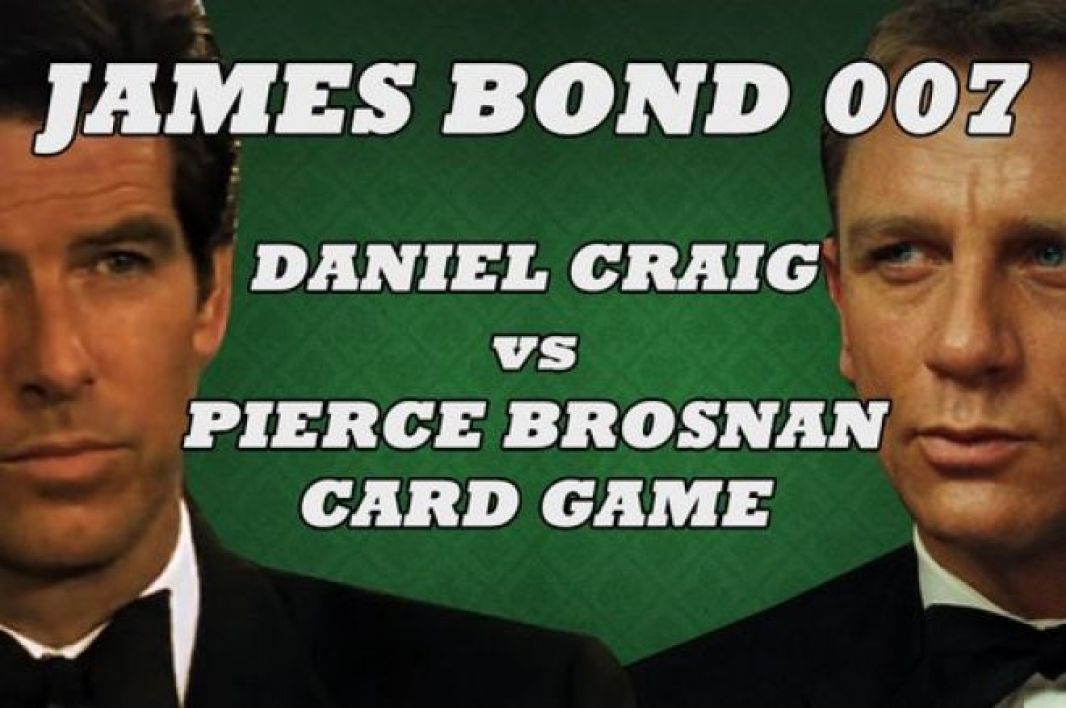 Daniel Craig Vs Pierce Brosnan, le duel poker ! - VIDEO