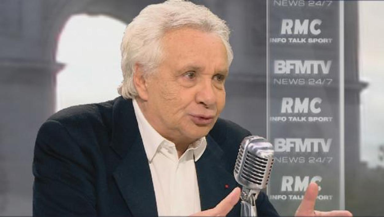Michel Sardou face à Jean-Jacques Bourdin