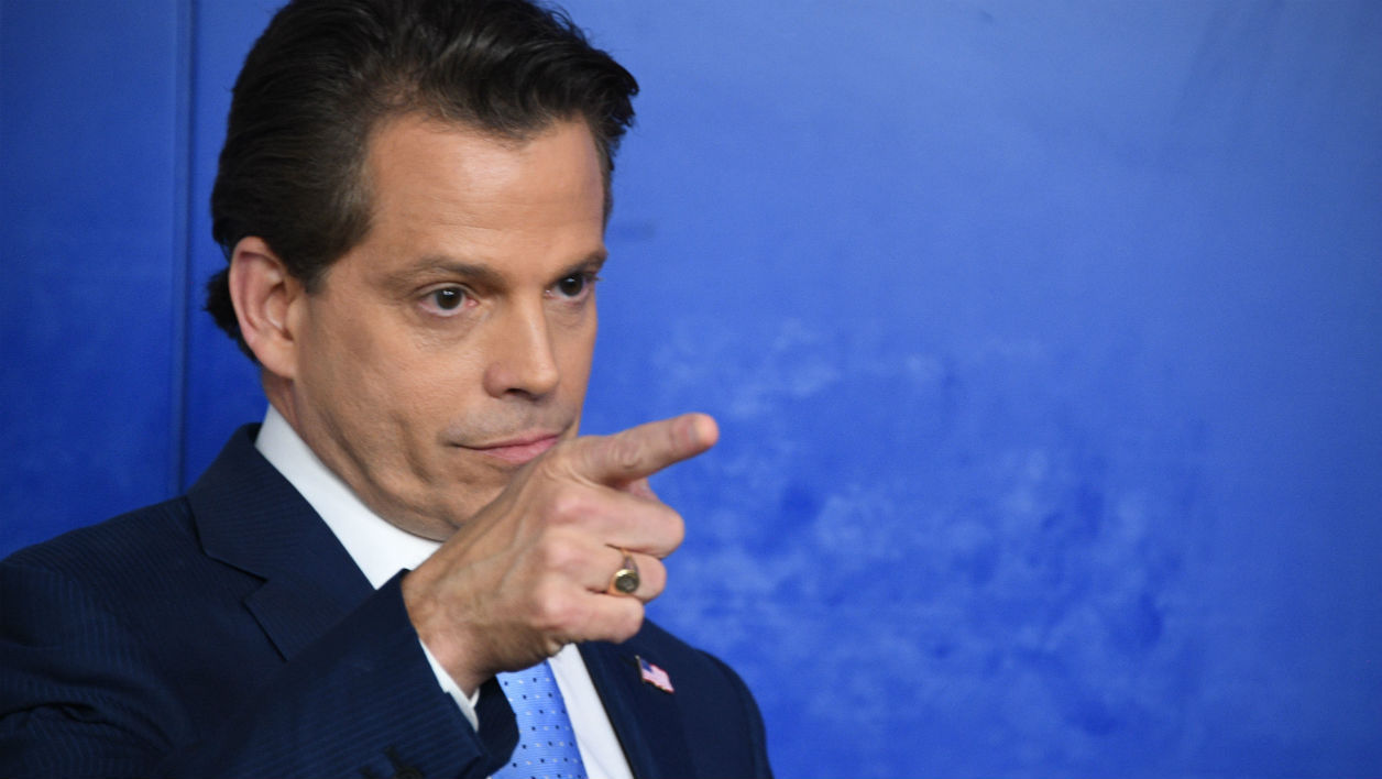 Anthony Scaramucci le 21 juillet 2017