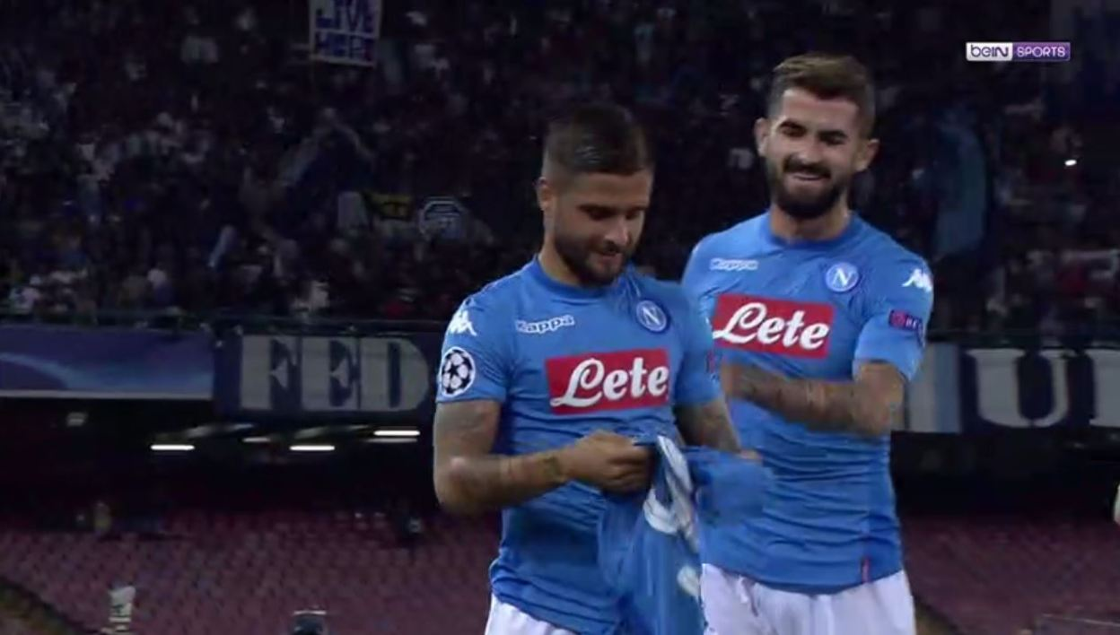 VIDEO. Naples: Insigne rate son hommage à Milik (à cause d'un coéquipier)