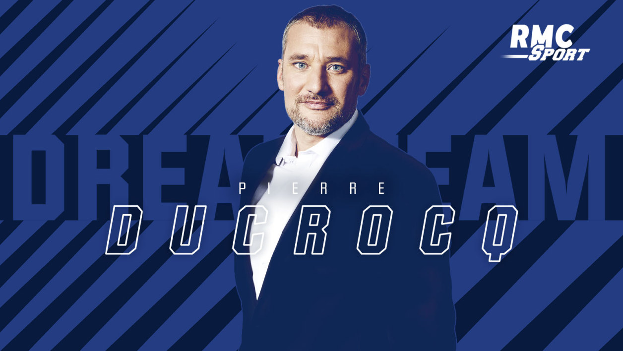 Pierre Ducrocq, membre de la Dream Team RMC Sport.