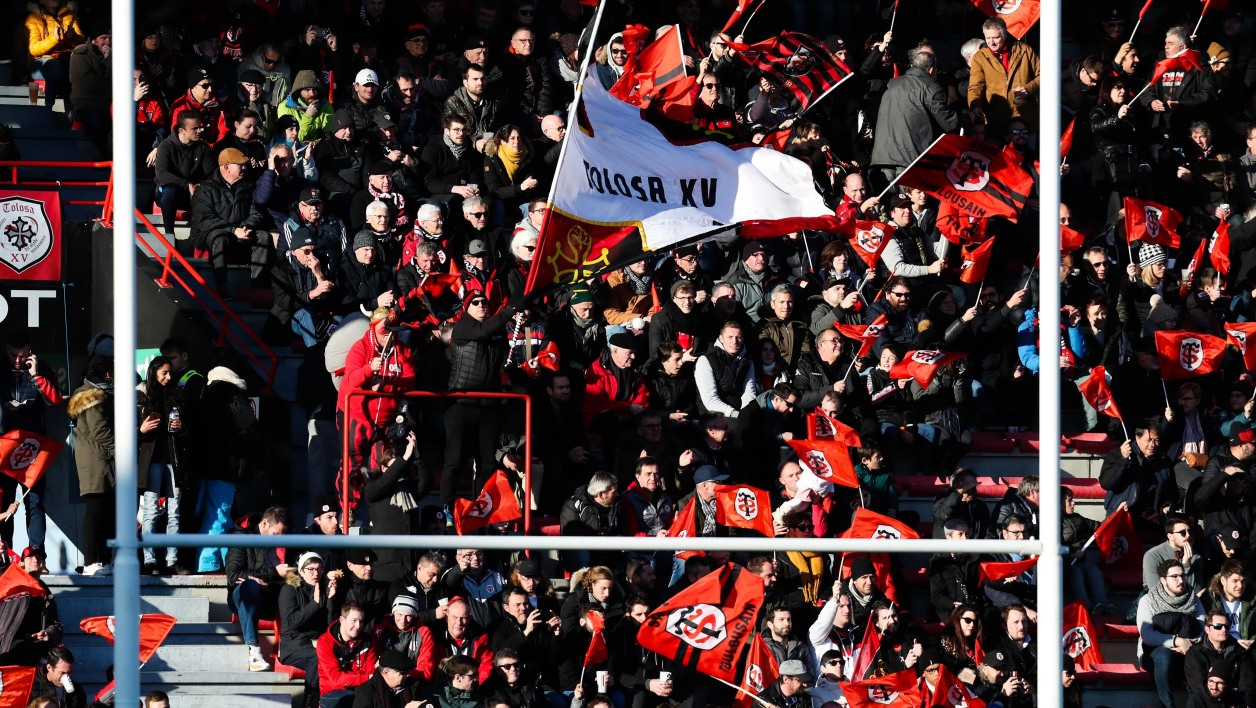 Supporters du Stade Toulousain
