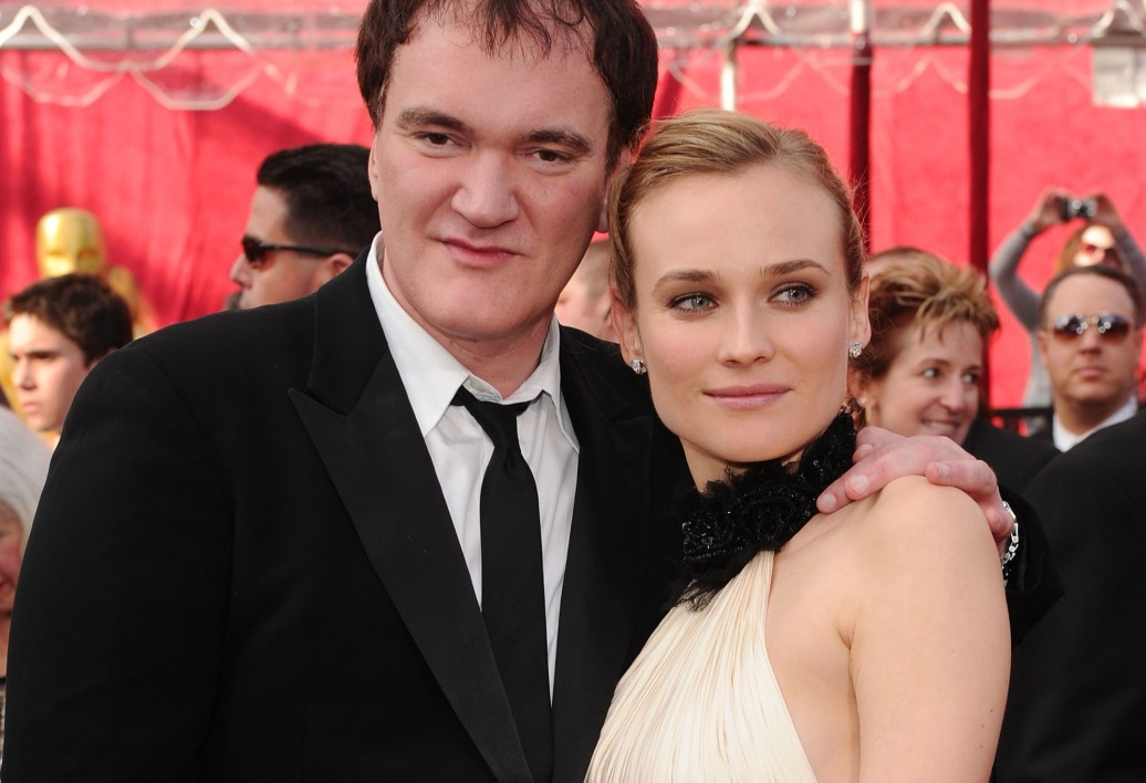 Quentin Tarantino et Diane Kruger aux Oscars 2010 à Hollywood