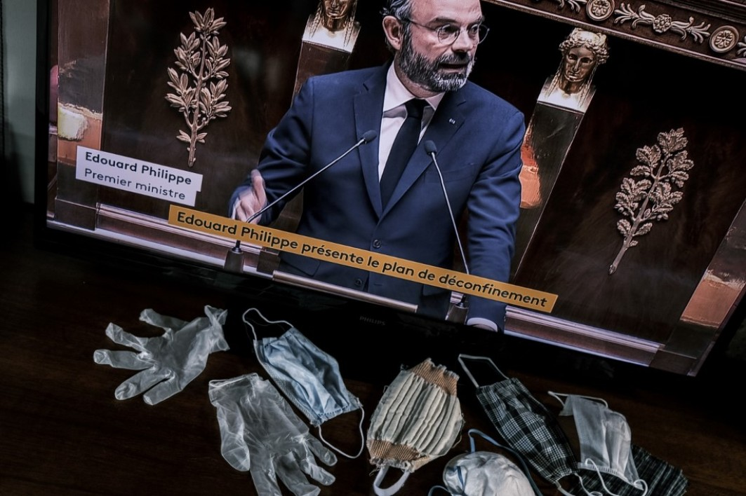 Edouard Philippe, masques, Assemblée nationale