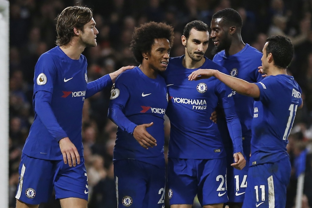 Willian et les Blues