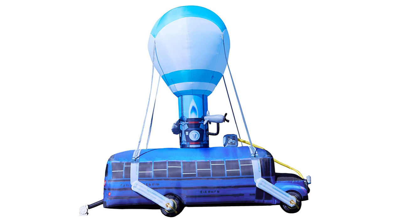 Fortnite bus gonflable