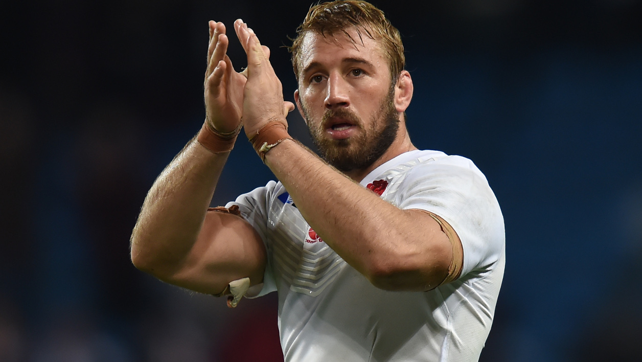 Le capitaine anglais Chris Robshaw