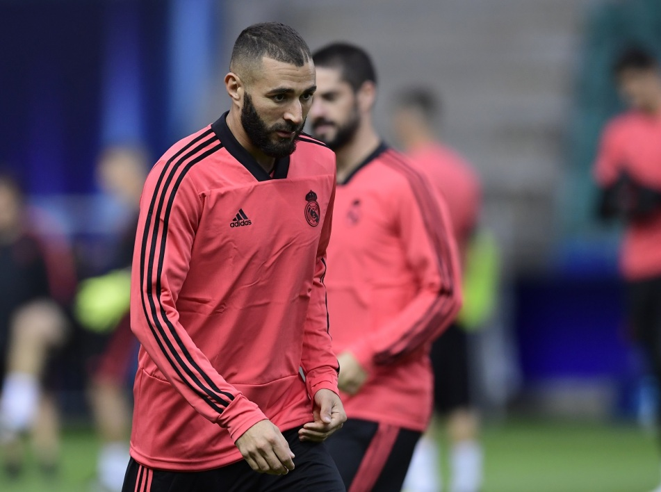 benzema entrainement supercoupe AFP.jpg