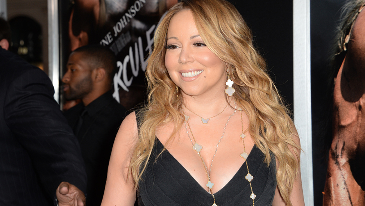 Mariah Carey en juillet  2014 à Los Angeles.