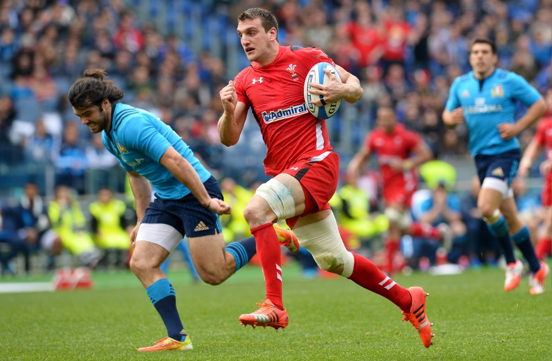 Sam Warburton, capitaine du pays de Galles
