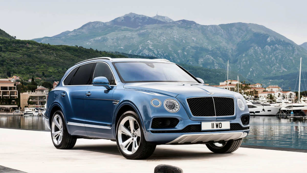 Bentley sort son premier diesel, c'est le Bentayga