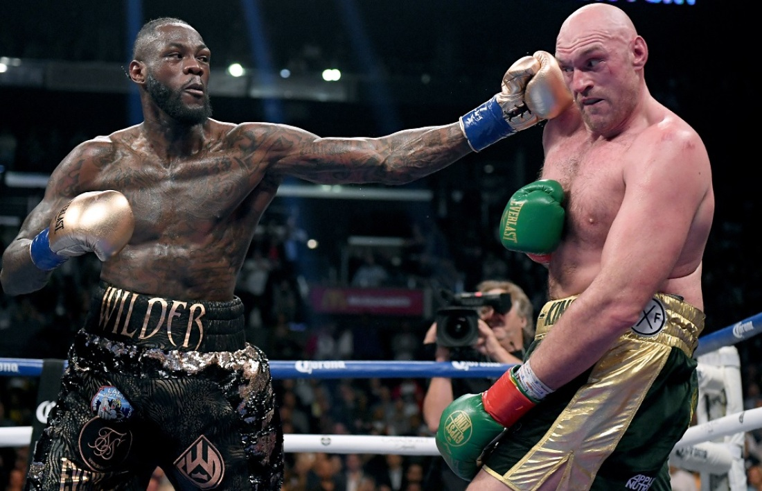 Wilder et Fury
