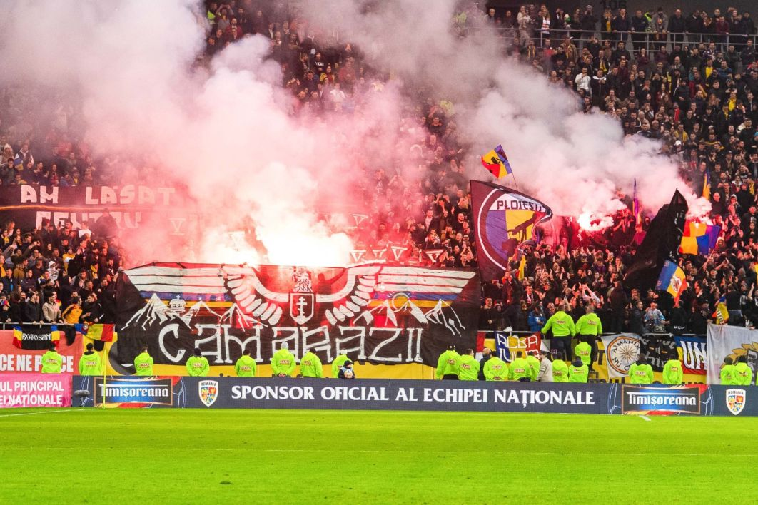 Supporters roumains