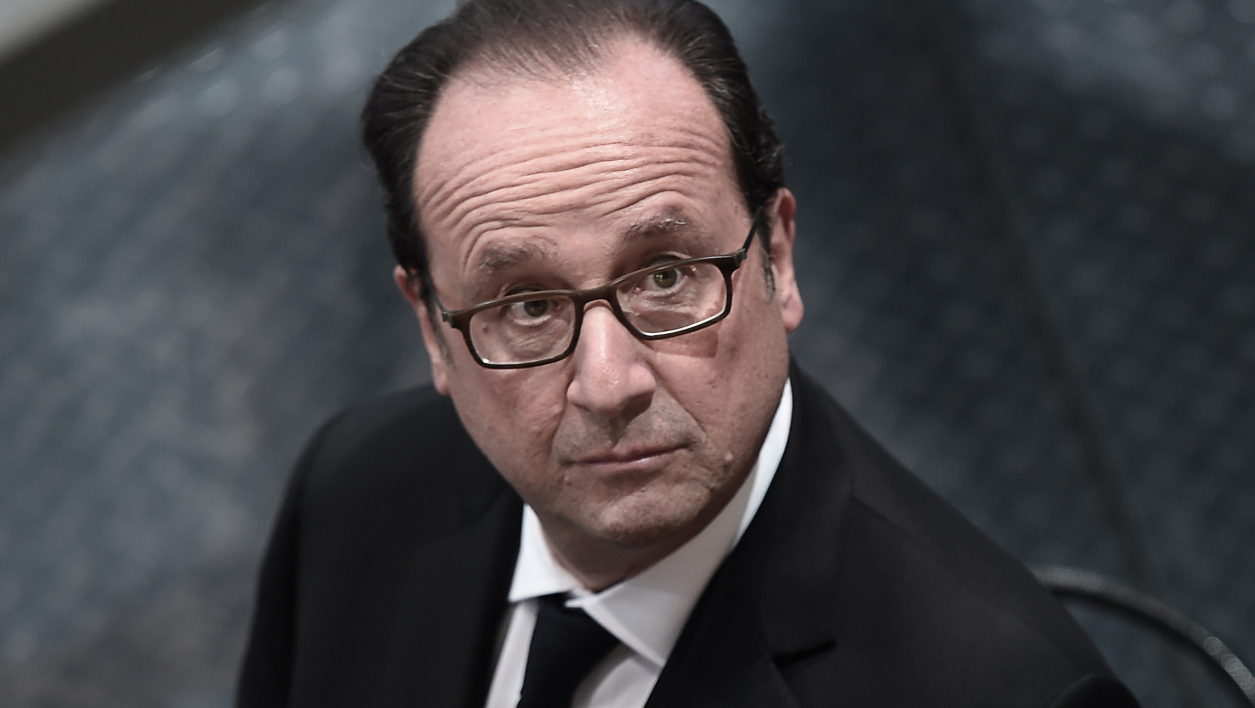 François Hollande, le 17 octobre.