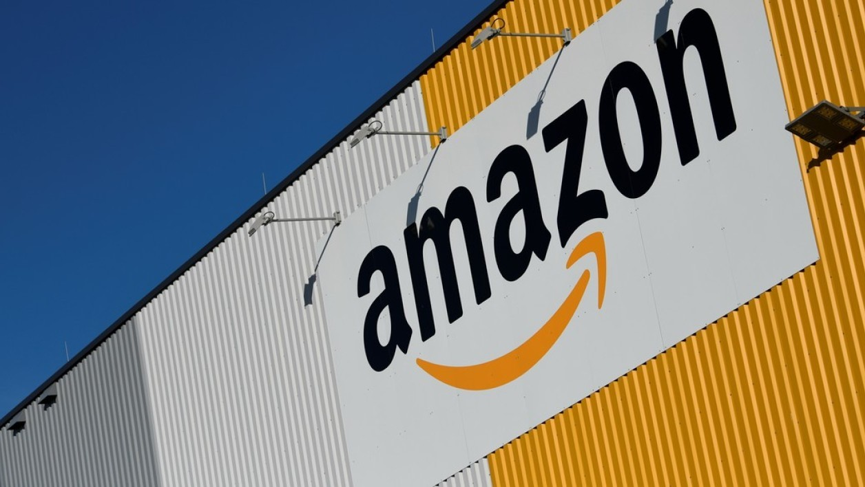 Des gilets jaunes bloquent le site toulousain d'Amazon (Photo d'illustration)