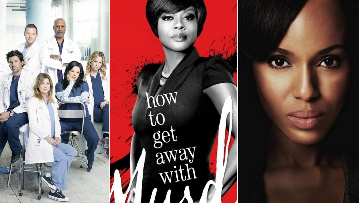 Grey's Anatomy, How to Get Away with Murder, Scandal - Montage BFMTV