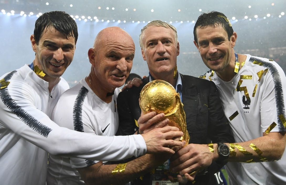 Didier Deschamps et son staff