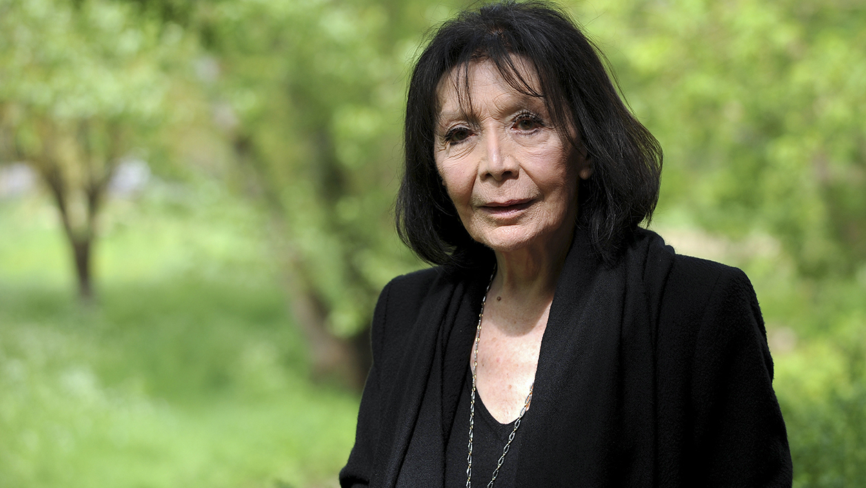 Juliette Gréco au Printemps de Bourges en avril 2015