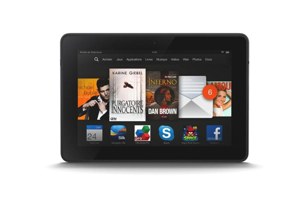 Amazon Kindle Fire HDX 7 pouces