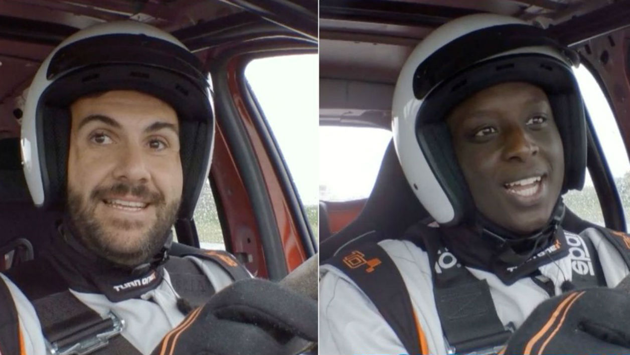 Laurent Ournac et Ahmed Sylla, invités de l'épisode 7 de la saison 3 de Top Gear France
