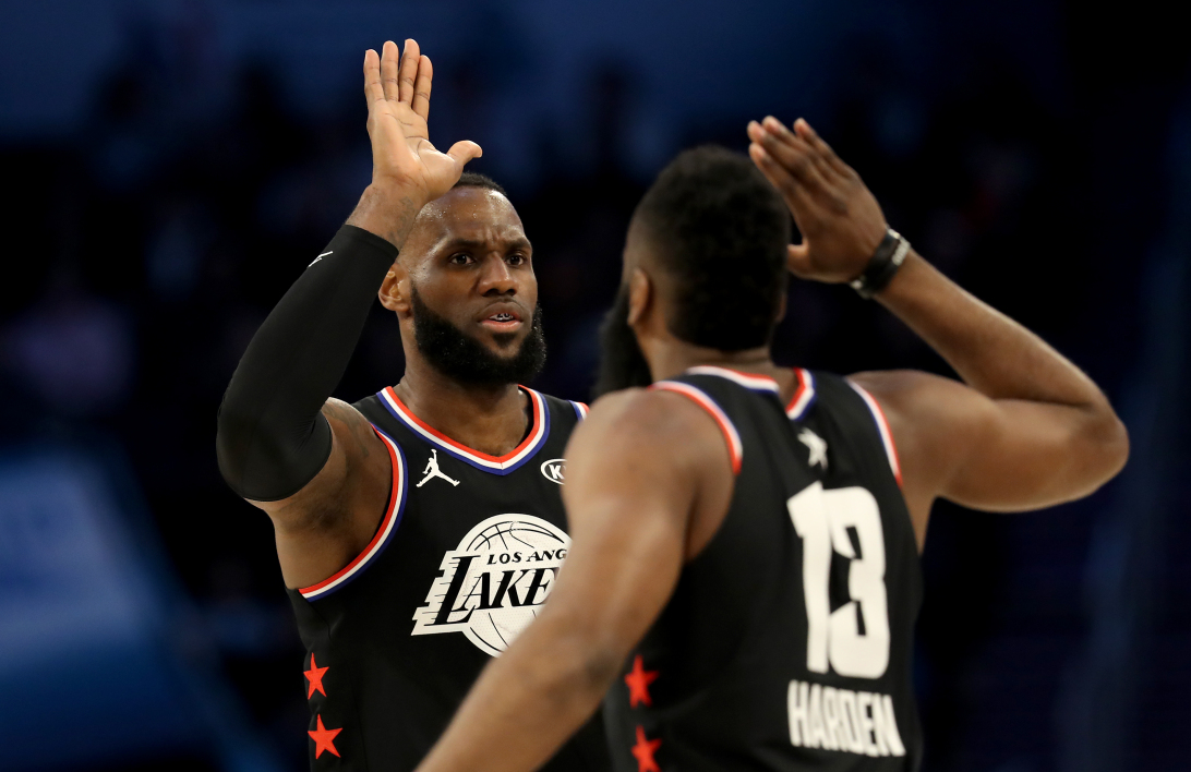 NBA: LeBron James et son équipe remportent le All Star Game