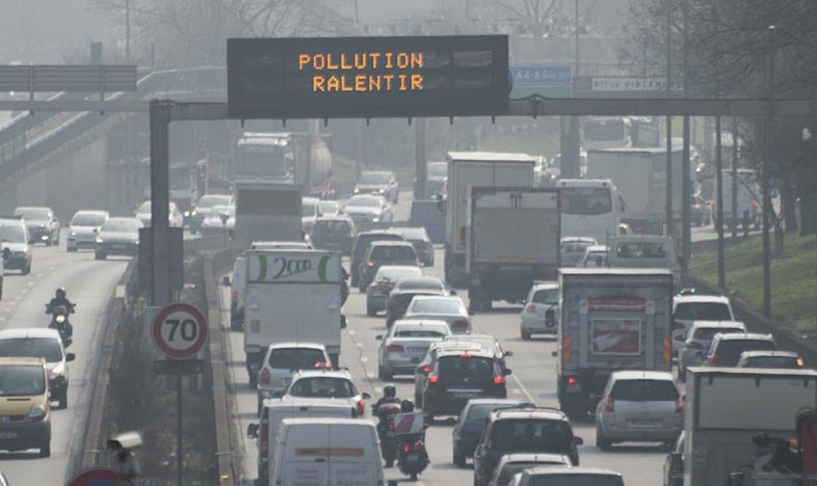 Nouvel épisode de pollution de l'air ce lundi à Paris