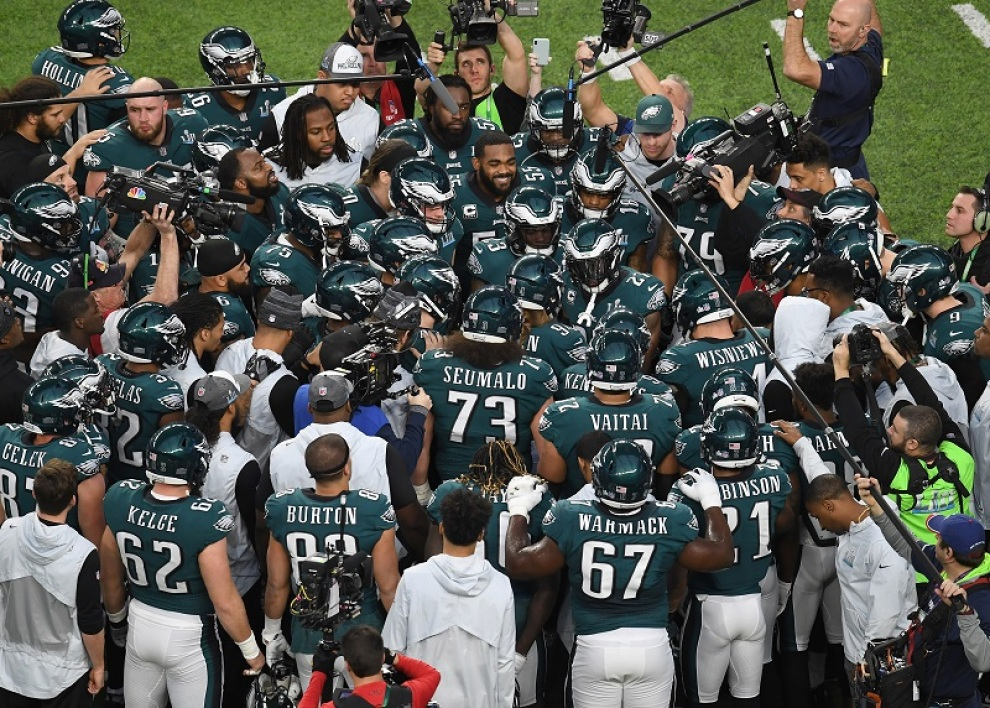 La victoire des Eagles au Super Bowl