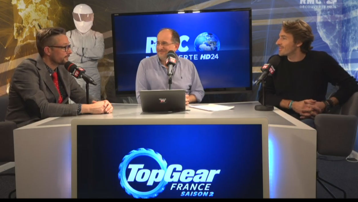 Live vidéo Top Gear France