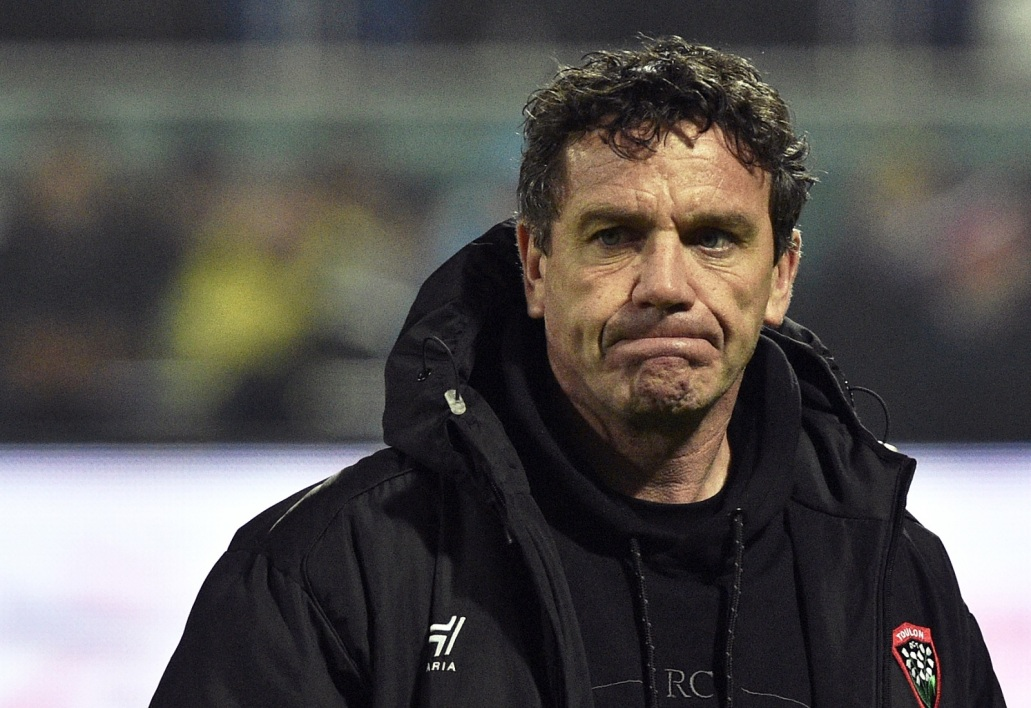 Mike Ford, l'entraîneur de Toulon
