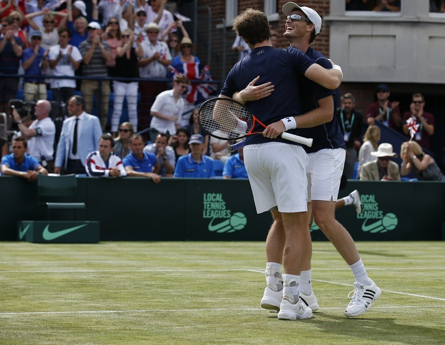 Jamie Murray et Andy Murray