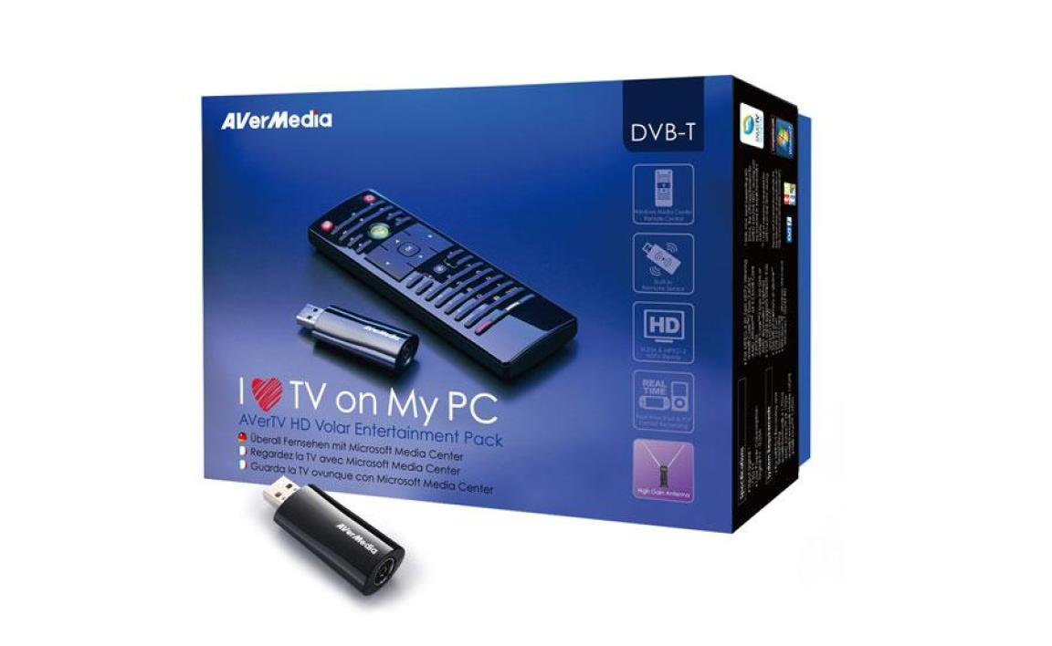 Avermedia AverTV HD Volar Entertanment Pack