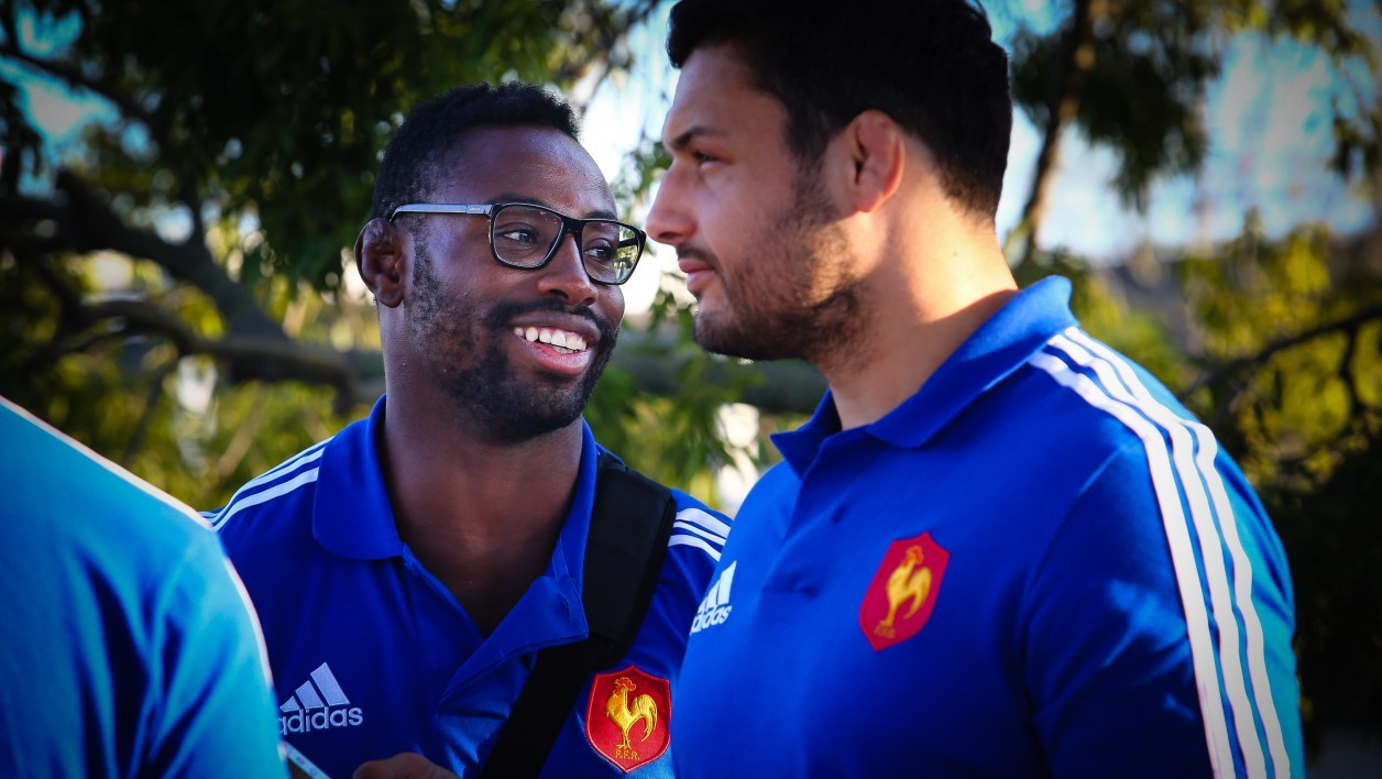 Fulgence Ouedraogo et Damien Chouly