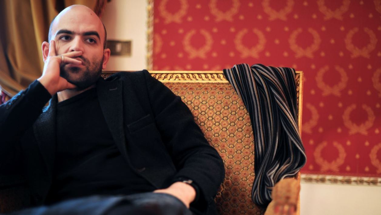 "Italian writer Roberto Saviano gives an interview on March 17, 2010 in Rome. Saviano, 29, whose book ""Gomorrah"" has been translated into 42 languages, has lived under police protection for two years. The screen version of ""Gomorrah,"" directed by Matteo Garrone, won second prize at the 2008 Cannes film festival and was in the running for an Oscar. His book, exposes the workings of the powerful Naples mafia, the Camorra. AFP PHOTO / CHRISTOPHE SIMON"