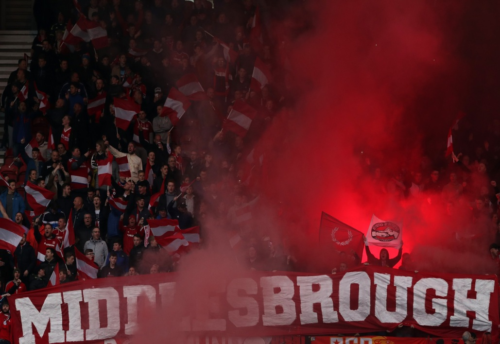 Supporters de Middlesbrough