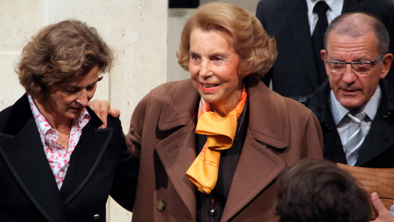 Liliane Bettencourt, en octobre 2011, à Paris.