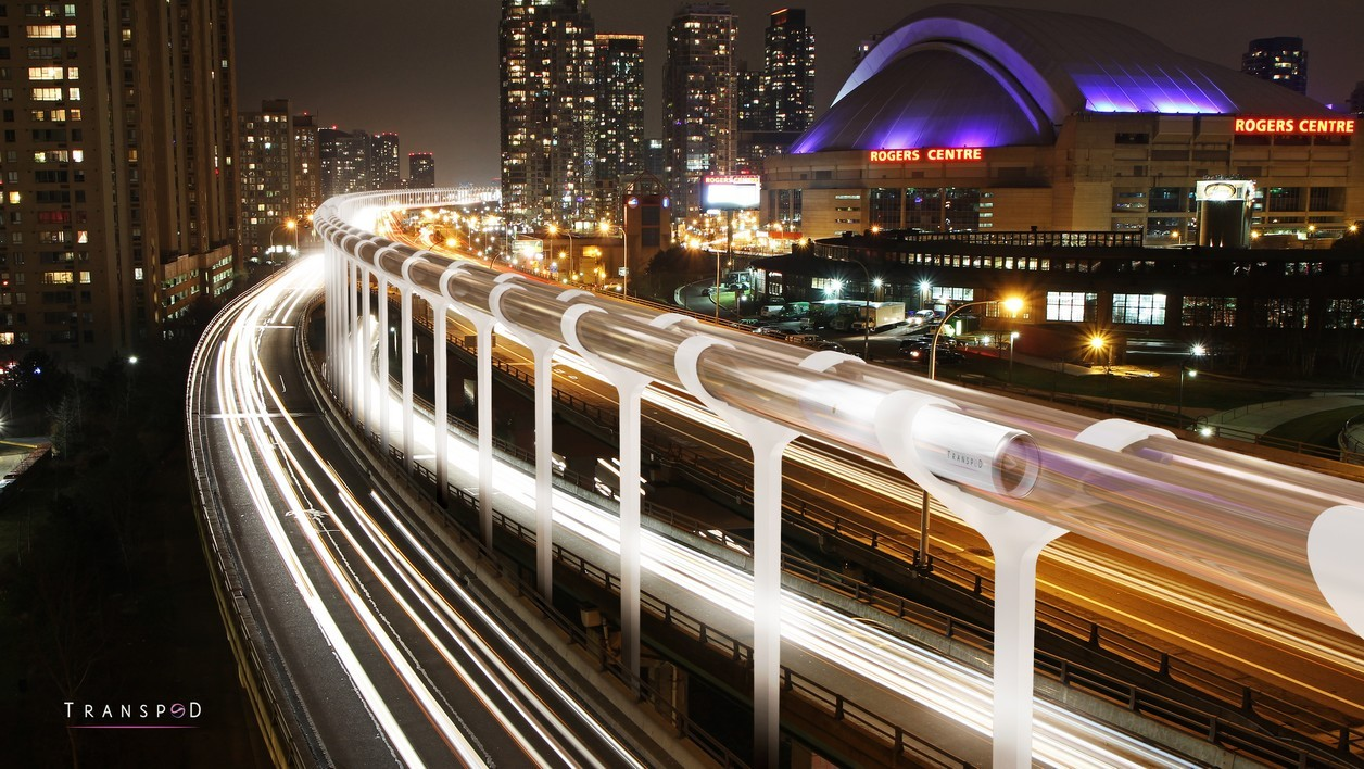 La start-up canadienne Transpod s'est lancée dans le projet Hyperloop en 2015.