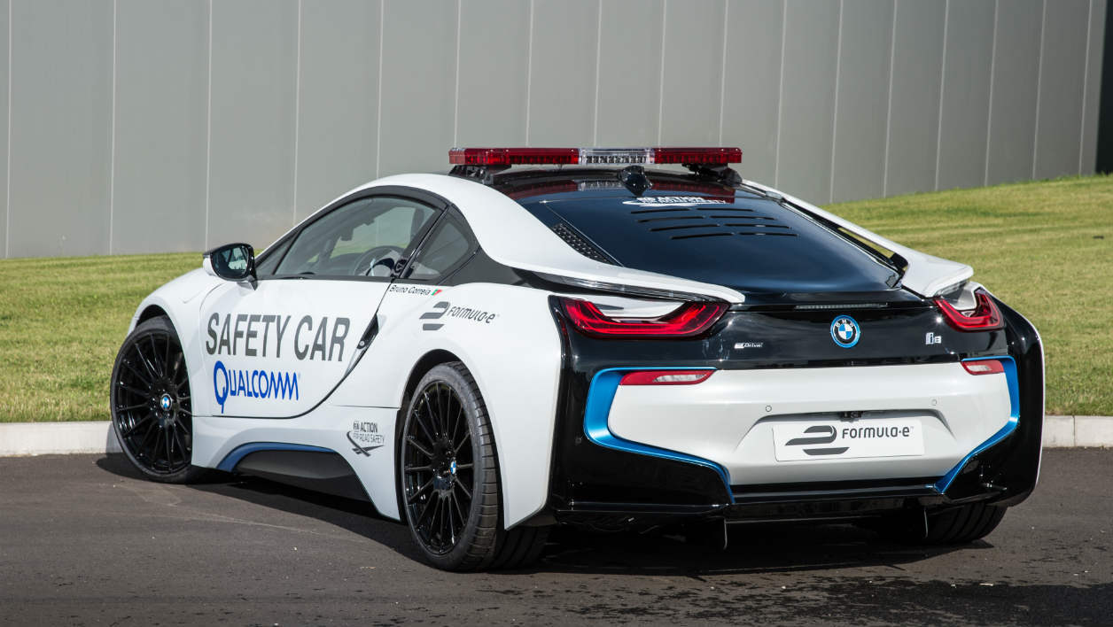 BMW i8 safety car ePrix de Paris