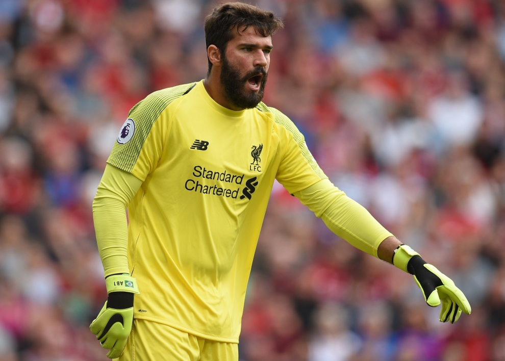 Alisson Becker avec Liverpool