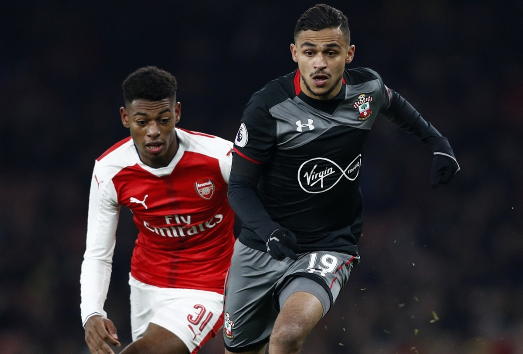 Sofiane Boufal face à Arsenal