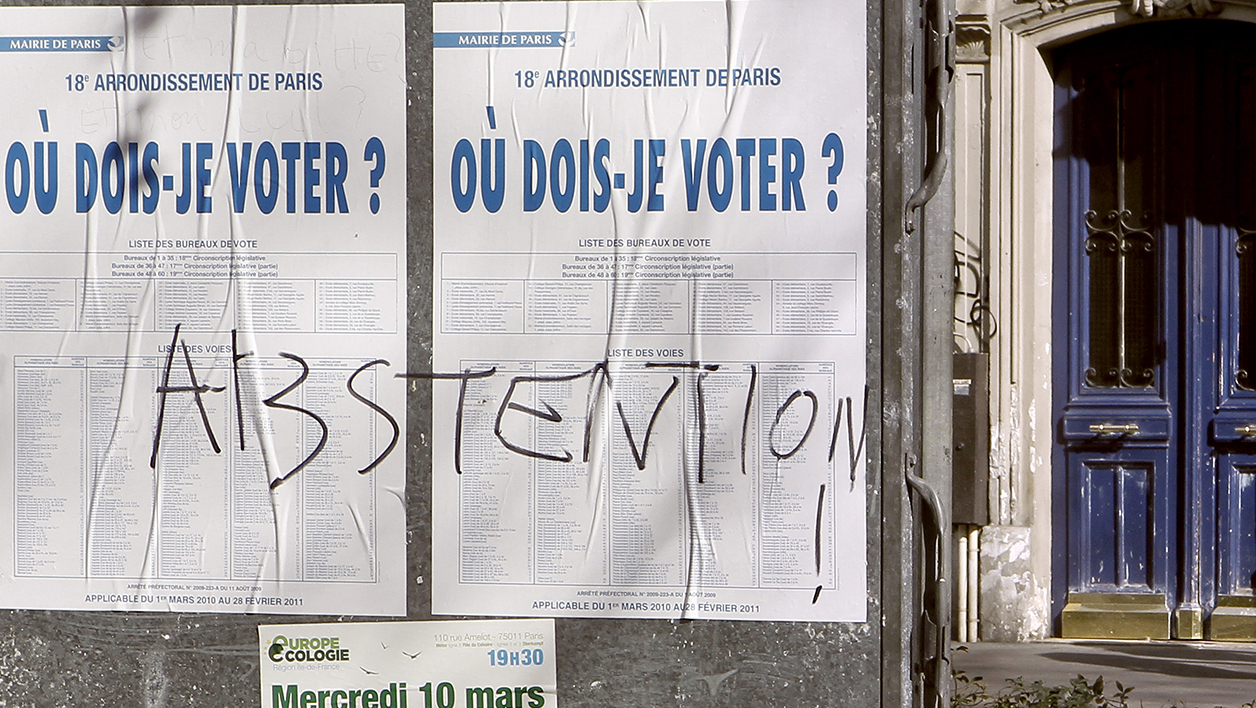 La PRAF-attitude entraîne le plus souvent à l'abstention (photo d'illustration).
