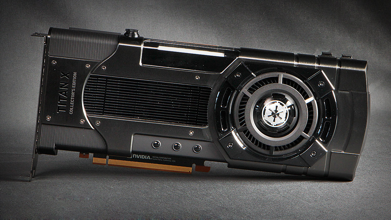 Nvidia Titan Xp Collector's Edition Galactic Empire