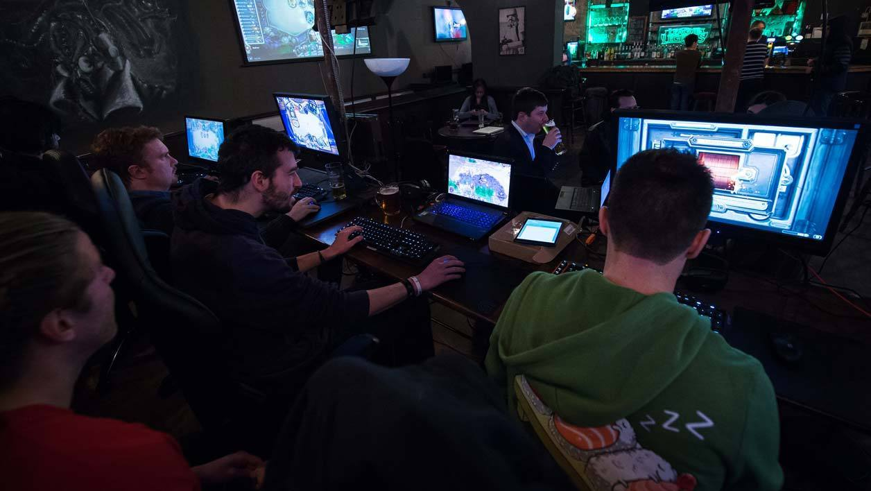 Une compétition de e-sport à Londres. (Photo d'illustration)