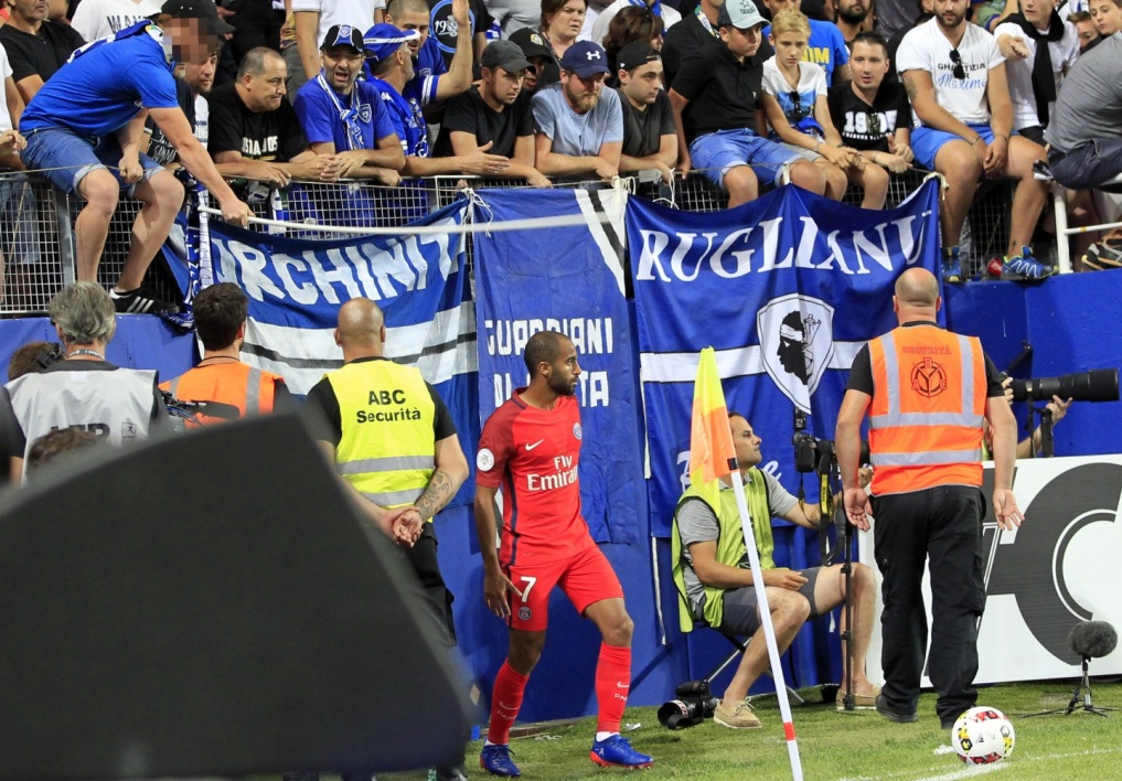 Ligue 1 : la LFP convoque Bastia après l'agression de Lucas